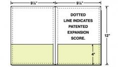 08-65-CON Conformer® Expanding 2 Pocket Letter Size Folder