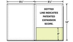 08-66-CON Conformer® Expanding Right Pocket Folder