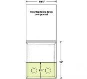 08-68-CON Large Conformer® Expanding Matchbook Folder