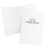 08-95-PMS PMS Printed Legal Size Two Pocket Folder