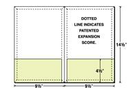 14-45-CON Conformer® Expanding Legal Size Folder