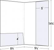 14-57 Vertical & Horizontal Pocket Legal Size Folder