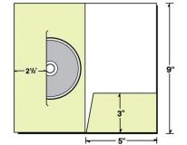 26-48 5x9 Presentation Folder w/ CD/DVD Holder