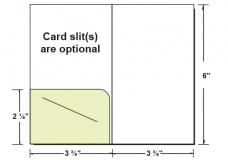 27-10 Left Pocket Gift/Key Card Holder