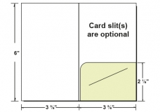 27-11 Right Pocket Gift/Key Card Holder