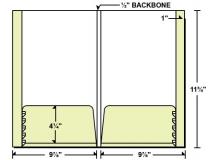 28-72 Reinforced 2 Expandable Pocket Folder