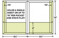 29-65-CON Conformer® Expanding 2 Pocket Reinforced Folder