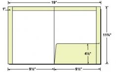 29-74-TOP Top/Side Reinforced Right Pocket Folder