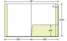 29-74 Reinforced Right Pocket Presentation Folder