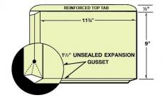 35-13 Reinforced Top Tab Expanding File Folder