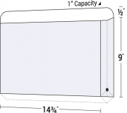 35-17 Legal Size Reinforced Top Tab Expanding File Folder