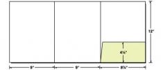 38-04 Tri-Panel Right Pocket Presentation Folder