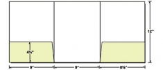 38-05 Tri-Panel Right & Left Pocket Presentation Folder