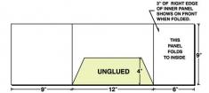 38-51 3-Panel Landscape Pocket Presentation Folder