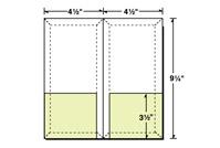 48-65 4 1/2 x 9 1/4 Conformer® Expanding Folder