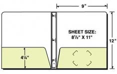 88-01-ECO Eco Friendly 2 Pocket 3 Ring Paper Binder