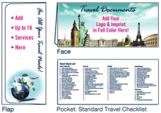 D-01-01-701 Travel Scenes 4-Color Digital Document Folder