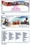 D-01-01-708 Enjoy Your Trip 4-Color Digital Travel Document Folder