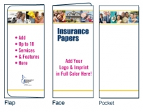 D-01-01-714 Insurance Services 4-Color Digital Document Folder