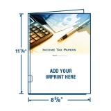 D-09-03-700 Income Tax Papers 4-Color Digital Report Cover
