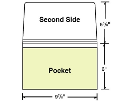 Custom Printed 6 X 9 7 8 Wallet Style Document Folder