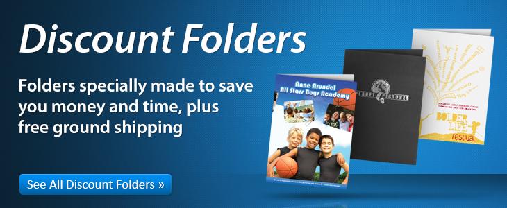 Discount Presentation Folders
