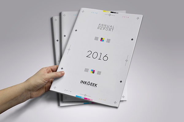 Print Design - Annual Repost Inkgeek